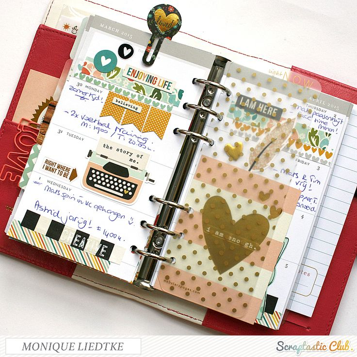 creating {non}sense: LaLaLa Love You & some Planner Fun - Simple Stories by Monique Liedtke