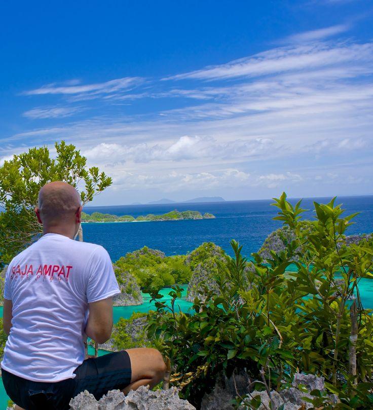 pianemo raja ampat,west papua indonesia