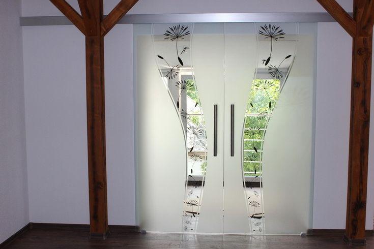 Sklenené posuvné dvere dvojkrídlové GG-246