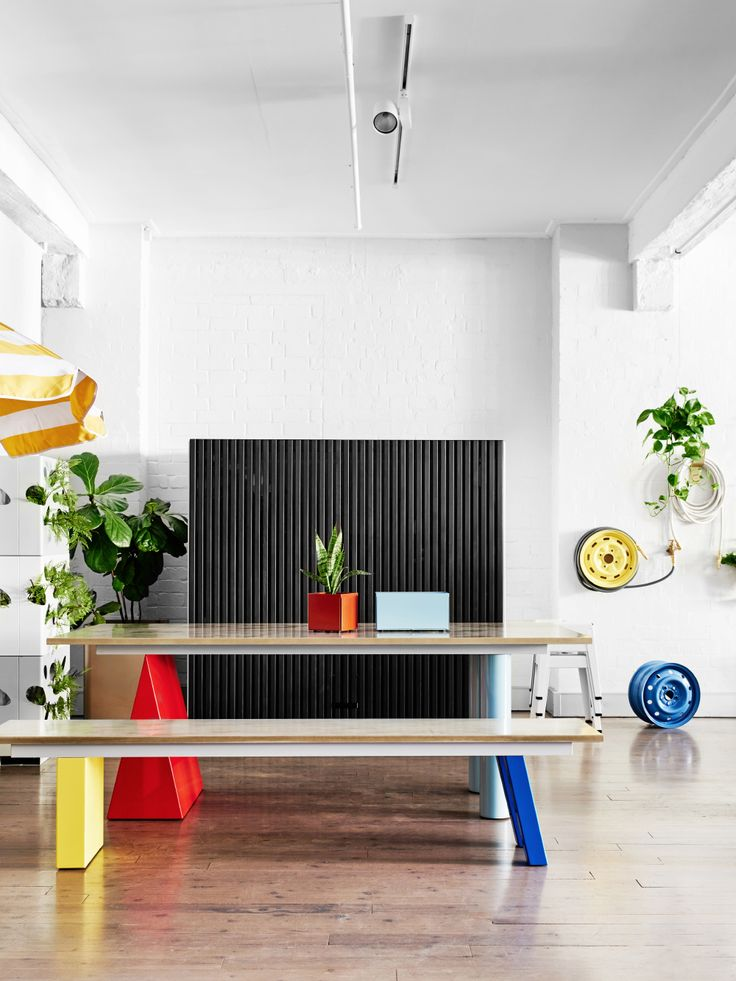 The Pick & Mix setting by Daniel Emma for Tait adds that spark of colour and form.