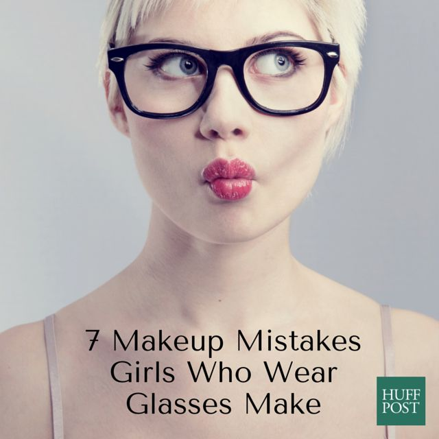 7 Essential Makeup Tips For Girls Who Wear Glasses