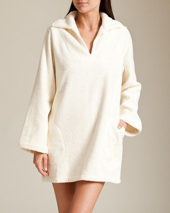 Lisa Marie Fernandez Swimwear: Terry Shirt $285
