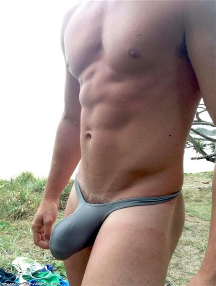 hot naked men wearing thongs