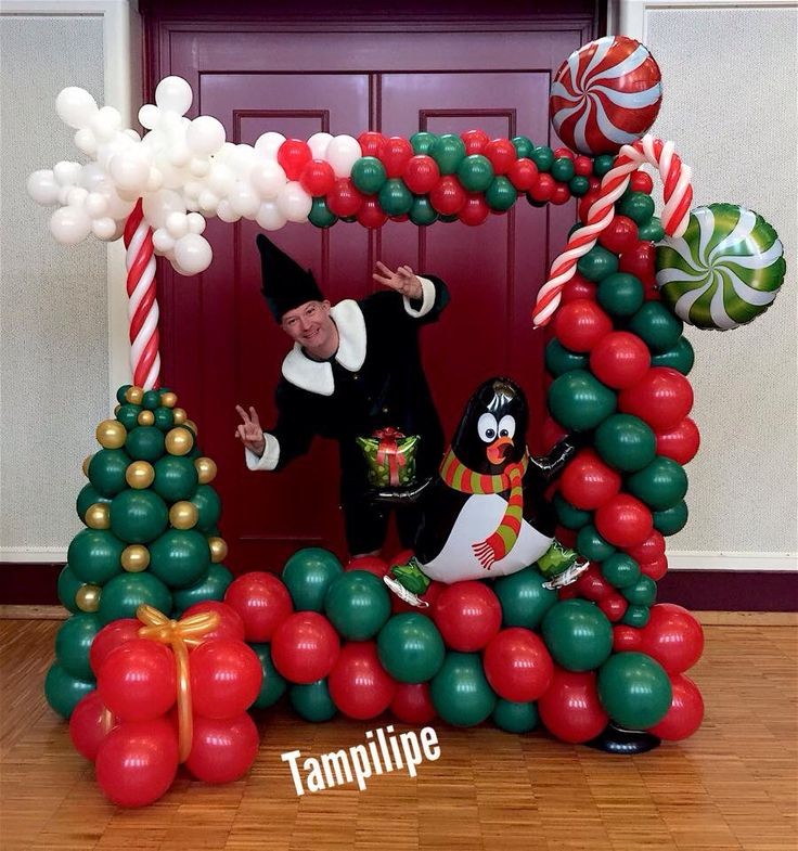 - Christmas Balloon Decor