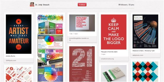 Pinterest ya se usa en las universidades