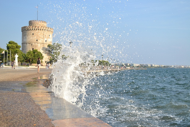 TRAVEL'IN GREECE I White Tower, Thessaloniki, Greece, #travelingreece