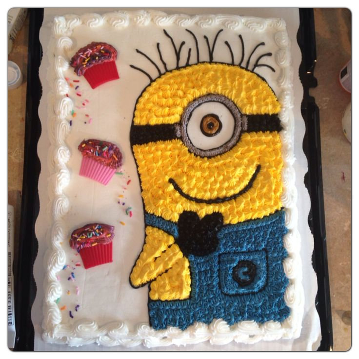 Fun Minion Birthday cake!!!! | Birthday party ideas ...
