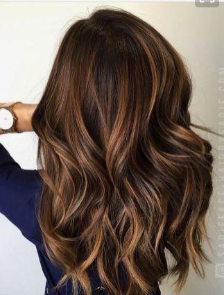 Colors Fall Hair Highlights (45) #HairHighlights