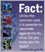 #DP #FLU CDC influenza vaccine effectiveness studies show the 2012-2013 flu vaccine reduced the risk of flu-associated medical visits from influenza A (H3N2) viruses by one half and from influenza B by two-thirds for most of the population (with the exception of seniors).