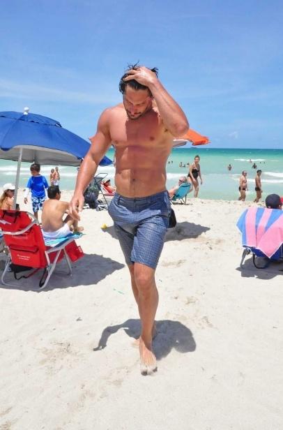 Joe Manganiello In Miami Sweet Merciful Heavens Joe