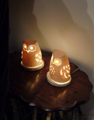 Owl Lamp #owl #Lamp #light