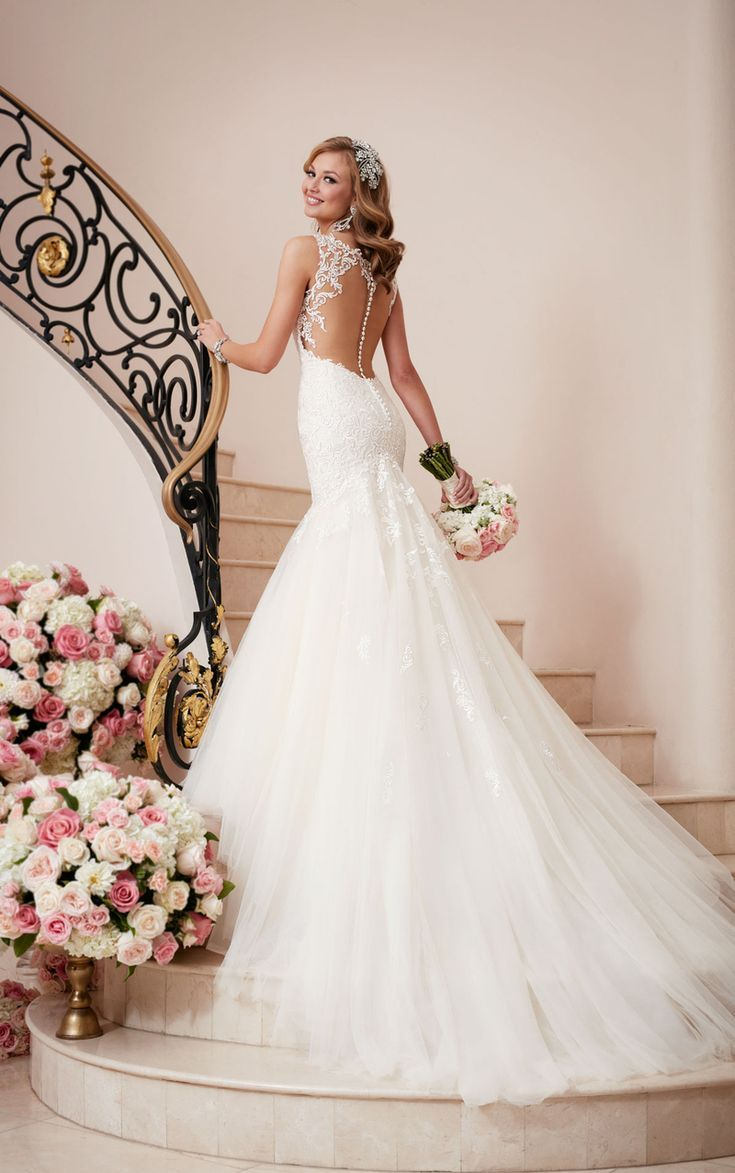 Fit and Flare Hochzeitskleider – Stella York Fit and Flare-Brautkleid 6314
