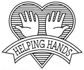 Images Of Helping Hands Coloring Page