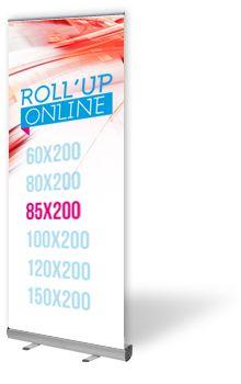Roll up 85x200 pas cher | impression kakemono 24h