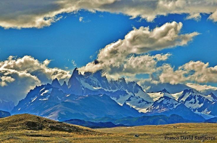 Monte Fitz Roy - El Chalten - Parque Nacional Los Glaciares - Patagonia, Argentina