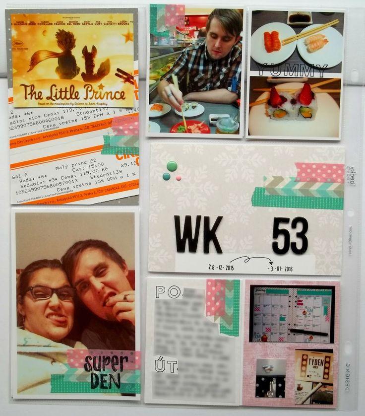 My little paper world...: WEEK 53