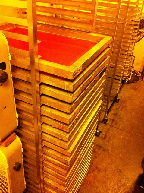 Screen Storage Racks : Best images about screen printing on pinterest