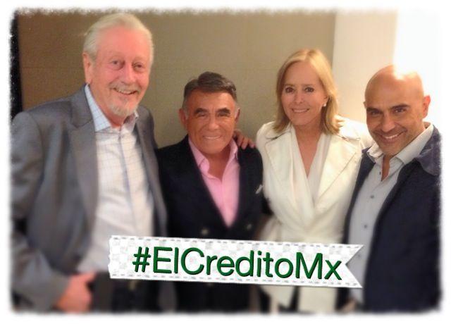 Y el pasado fin de semana también nos visitaron en #ElCreditoMx la guapísima Margarita Gralia y su esposo, el arquitecto Ariel Bianco.