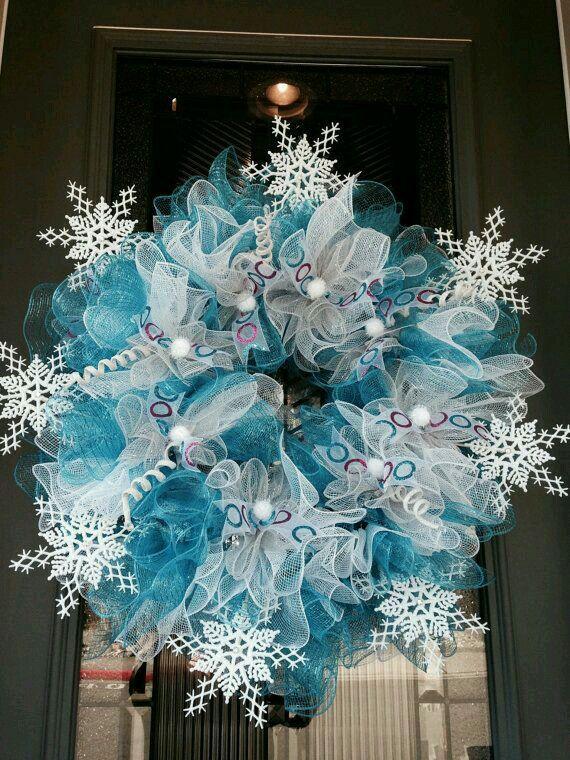 49 Best Deco Wire Mesh Wreath Images On Pinterest Deco