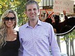 Eric and Lara Trump heckled in New York City | Daily Mail Online