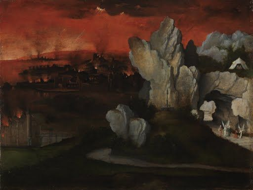 Landscape with the Destruction of Sodom and Gomorrah - Google Arts & Culture