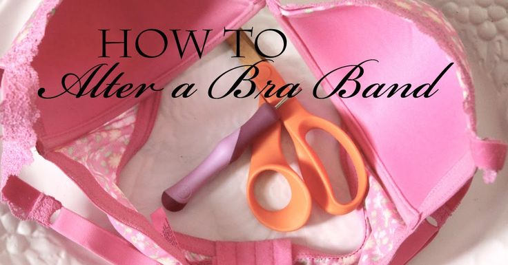 Pin It   Sometimes it's tough to find a bra that fits.      So I'm going to show you something that may fix that.    Who might want to use t...