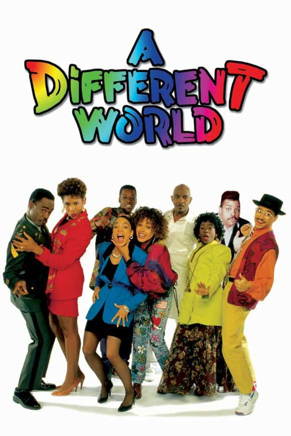 A Different World series (1987-1993) The Different World typically addressed issues like; race, class relations, equal rights amendment, HIV/AIDS and abuse.
