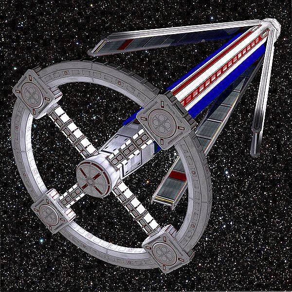 multiple torus space station - photo #14
