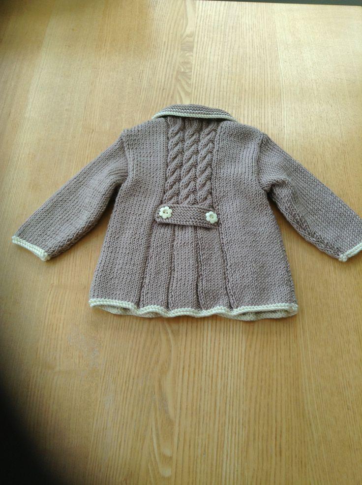 Vintage jacket for Isla (back)