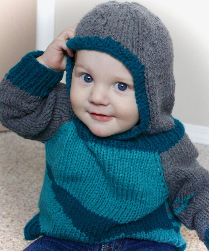 Babys Textured Sweater Knitting Pattern 0-6month To 4-5 Years