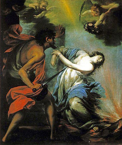 Giovan Camillo Ciabilli, Martirio di Santa Lucia