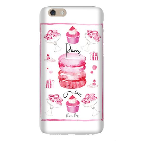 Paris Jadore by Kerrie Hess iPhone 6 Case from The Dairy www.thedairy.com #TheDairy #PhoneCase #iPhone6 We're extremely excited to present our exclusive phone case collaboration with the talented Kerrie Hess Illustration. This boutique collection of iPhone & Samsung Galaxy cases are available now from www.thedairy.com Australian born artist Kerrie Hess has illustrated for CHANEL, Printemps Paris, Kate Spade New York, VOGUE and Net-a-Porter UK.