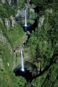 Takamaka Falls, Reunion Island, Vanilla Islands, Indian Ocean