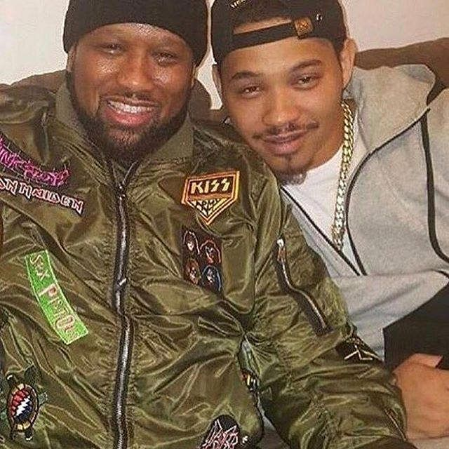 A recent photo of former street legend Alpo Martinez and son Gumby.