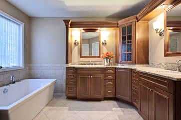 L shaped vanity design ideas pictures remodel and d cor for L shaped master bathroom layout