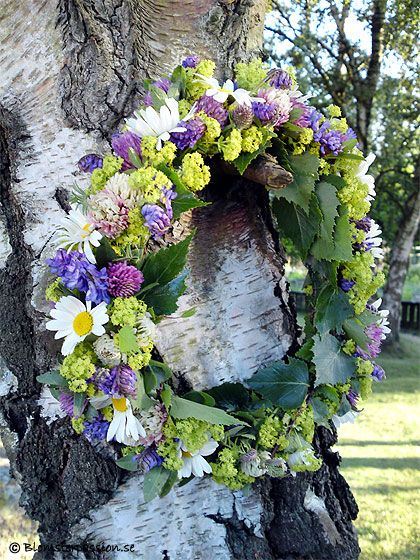 Midsummer crown/wreath.