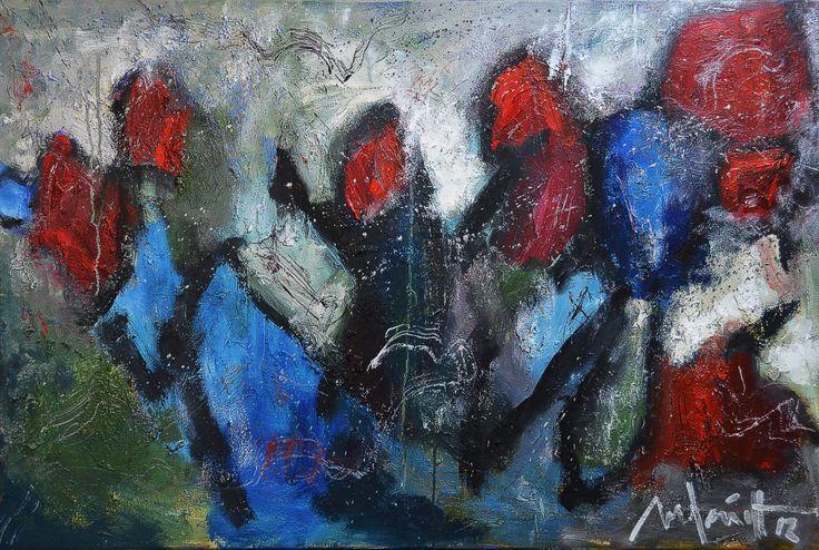 100 x150 cm Abstract Art by Paul Smidt  www.paulsmidt.nl www.facebook.com/paulsmidtschilderkunst