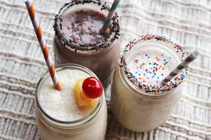 Funfetti Cake Better Milkshake... From one of my best friends who knows I love funfetti