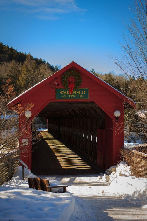 Gendron Covered Bridge - Wakefield, Vermont