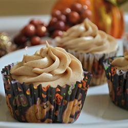 Pumpkin Spice Cupcakes With Cream Cheese Frosting Allrecipes.com I ...