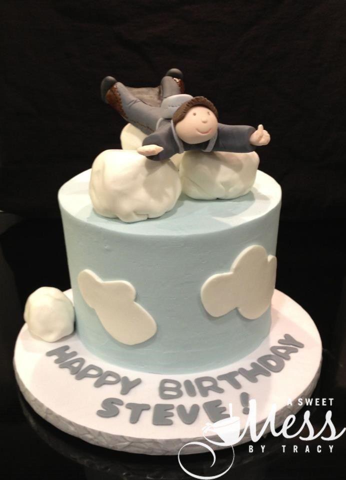Skydiving Cake Birthday Cakes For Boys Pinterest