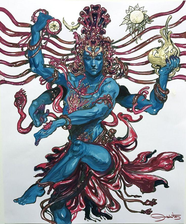 Ananda Shiva-Nataraja - Abhishek Singh Art