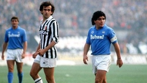 Platini and Maradona