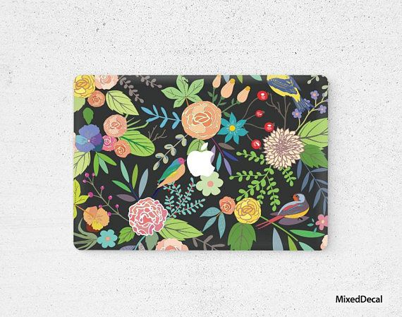 Spring MacBook Pro Decal / MacBook Pro sticker #geekery #computer #accessories @EtsyMktgTool http://etsy.me/2hZqmEO #macbookdecal