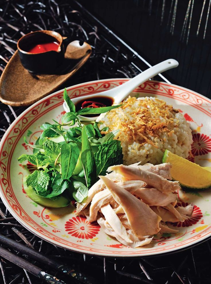 Hoi An chicken and rice by Tracey Lister & Andreas Pohl from Real Vietnamese Cooking | Cooked