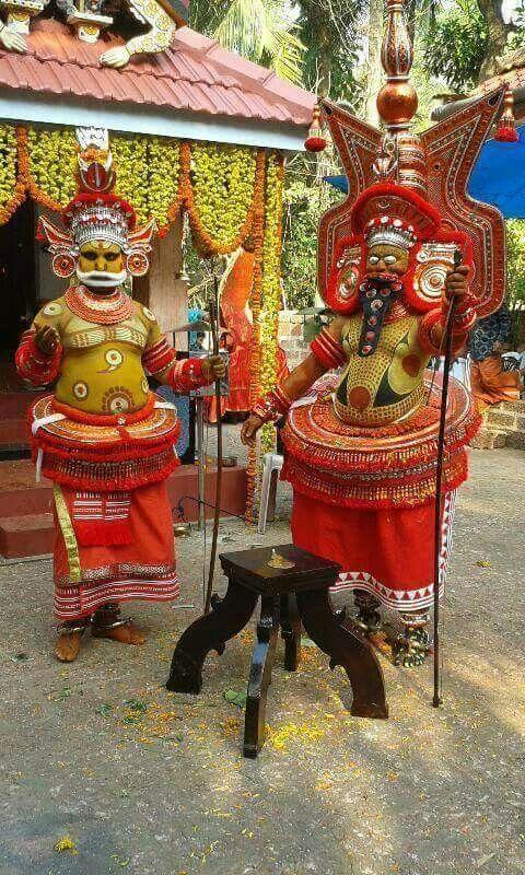 """THEYYAM"" in art of Kerala"