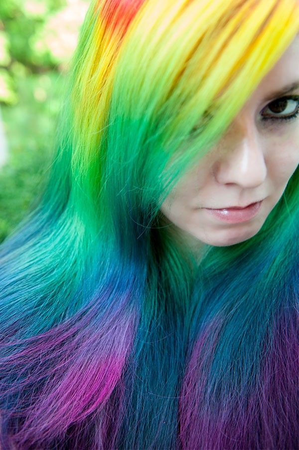 dyed hair styles 80 best images about cool hair styles on 3541
