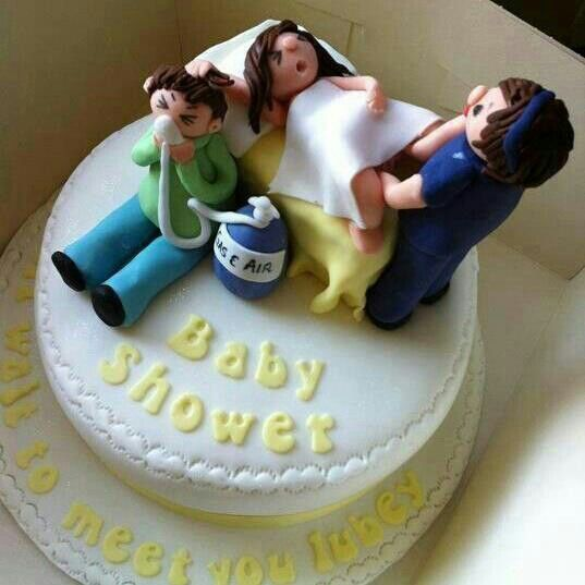 This Baby Shower Cake Is Too Funny!