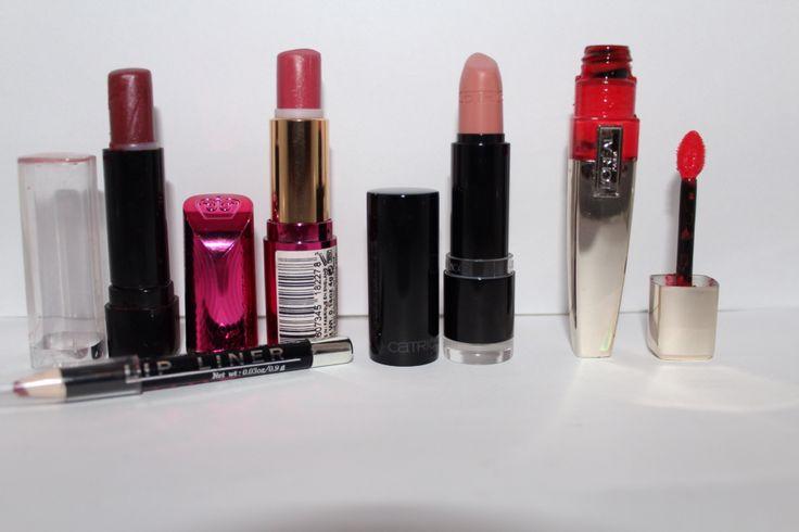 My favorite lipsticks/ gloss/ liner