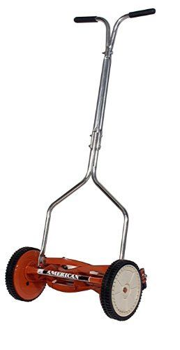 Features:  14 inch cutting width 19 lbs, easy to maneuve Alloy Steel Construction 8-1/2 inch high impact wheels No gas – No hassle  Keep a small lawn trimmed and neat with the American Lawn Mower 14″ Reel Lawn Mower. Made with tempered alloy steel, it offers reliable cutting and...